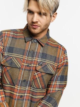 Košeľa Brixton Bowery Flannel Ls (sage)
