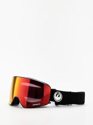 Okuliare na snowboard Dragon PXV2 (split/lumalens red ion/lumalens light rose)