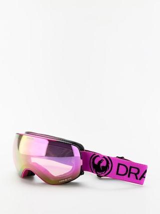 Snowboardovu00e9 okuliare Dragon X2s (raspberry/lumalens pink ion/lumalens dark smoke)
