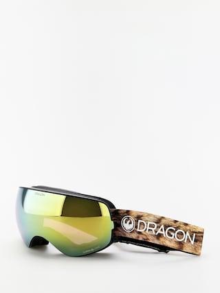 Snowboardovu00e9 okuliare Dragon X2s (lynxxx/lumalens gold ion/lumalens amber)