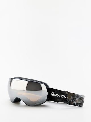 Snowboardovu00e9 okuliare Dragon X2s (galaxy rock/lumalens silver ion/lumalens flash blue)