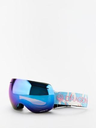 Snowboardovu00e9 okuliare Dragon X1 (flamingos/lumalens blue ion/lumalens amber)