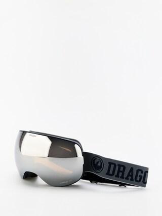 Snowboardovu00e9 okuliare Dragon X2 (collegiate/lumalens silver ion/lumalens flash blue)