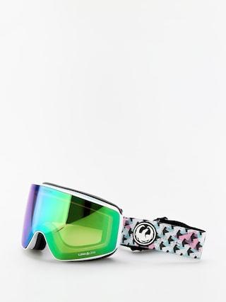 Snowboardovu00e9 okuliare Dragon PXV (bayside/lumalens green ion/lumalens amber)