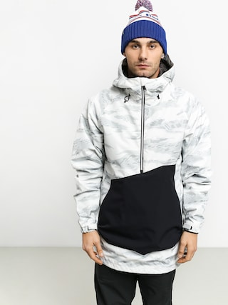 Snowboardovu00e1 bunda ThirtyTwo Jp Anorak (white/camo)