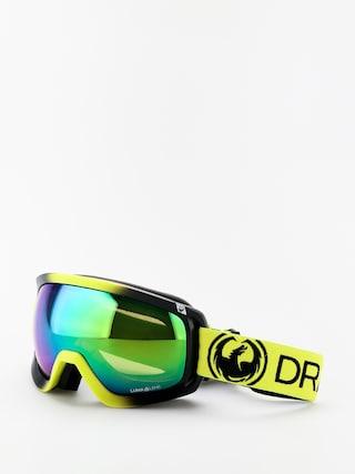 Snowboardovu00e9 okuliare Dragon D3OTG (lime/lumalens green ion/lumalens amber)