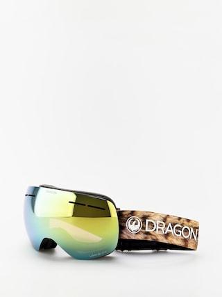 Snowboardovu00e9 okuliare Dragon X1s (lynxxx/lumalens gold ion/lumalens amber)