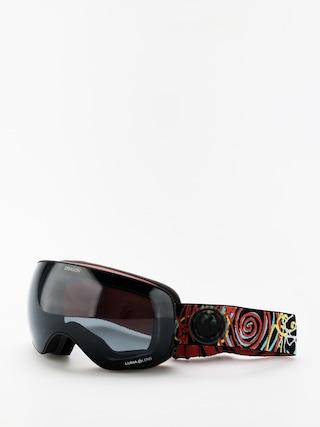 Snowboardovu00e9 okuliare Dragon X2s (gigi ruf sig19/lumalens dark smoke/lumalens rose)