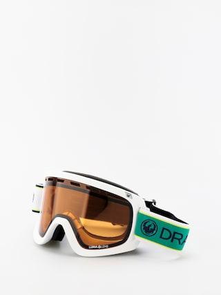 Snowboardovu00e9 okuliare Dragon D1OTG (polo club/lumalens amber/lumalens dark smoke)
