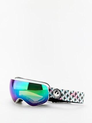 Snowboardovu00e9 okuliare Dragon X2s (bayside/lumalens green ion/lumalens amber)