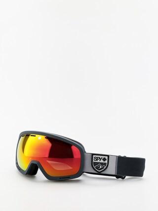 Snowboardovu00e9 okuliare Spy Marshall (colorblock gray hd plus bronze w/red spectra mirror yellow w/green)