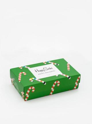Ponou017eky Happy Socks X Mass Giftbox 3pk (red/green)