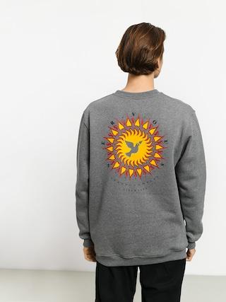 Mikina Nervous Sun (grey)