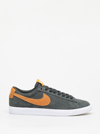 Topu00e1nky Nike SB Blazer Low Gt (sequoia/kumquat white gum light brown)