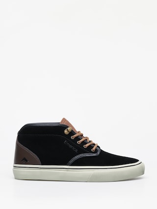Topu00e1nky Emerica Wino G6 Mid (black/brown/grey)