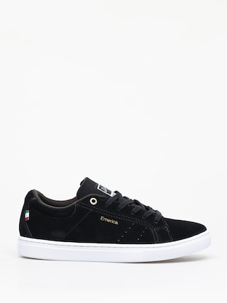 Topu00e1nky Emerica Americana (black/white/gold)
