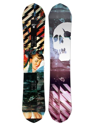 Snowboard Capita Ultrafear (multi 1/black/purple/pink)