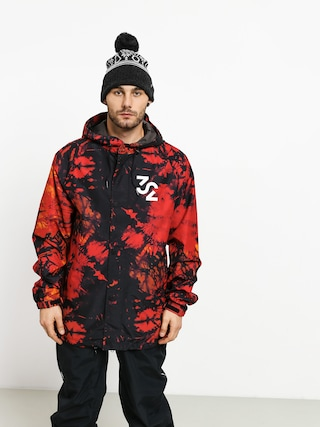 Snowboardovu00e1 bunda ThirtyTwo Grasser (red/black)