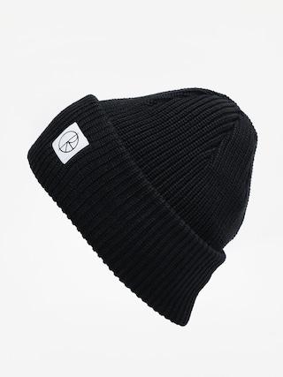 u010ciapka Polar Skate Double Fold Merino (black)