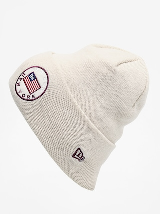 u010ciapka New Era Flagged Cuff Knit (stone)