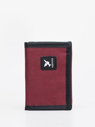 Peňaženka Nervous Icon (maroon)
