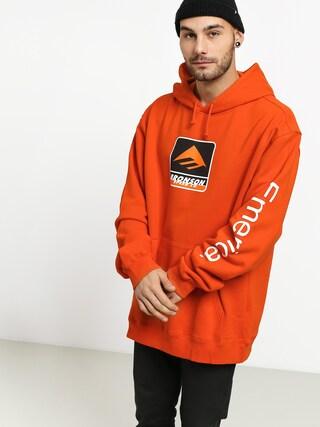 Mikina s kapucňou Emerica Bronson HD (orange)