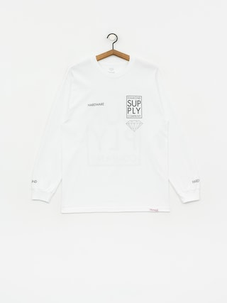 Triko Diamond Supply Co. Stacked Type (white)