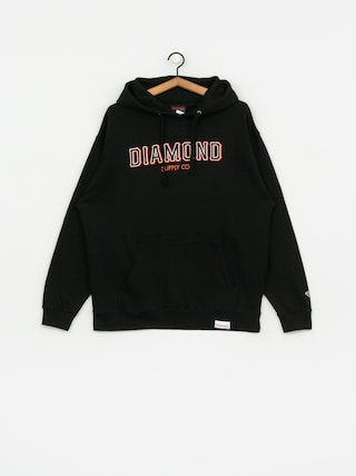 Mikina s kapucu0148ou Diamond Supply Co. Sf Diamond HD (black)