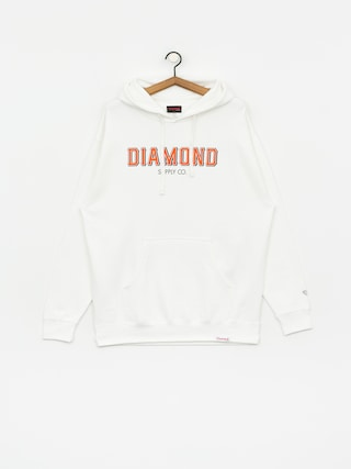Mikina s kapucu0148ou Diamond Supply Co. Sf Diamond HD (white)
