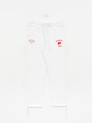 Nohavice Diamond Supply Co. Dmnd X Muhammad Ali Fight (white)