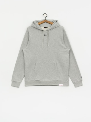Mikina s kapucu0148ou Diamond Supply Co. Dmnd X Muhammad Ali Worlds Greatest HD (heather grey)