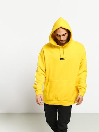 Mikina s kapucňou Element Primo Big HD (bright yellow)