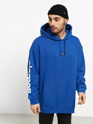 Mikina s kapucňou Element Primo Big HD (nautical blue)