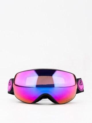 Okuliare na snowboard Dragon X2s (split/lumalens purple ion/lumalens amber)
