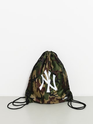 Batoh New Era Mlb Gym Sack Nny (woodland camo/optic white)