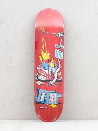 Doska Polar Skate Aaron Herrington Crash (red)