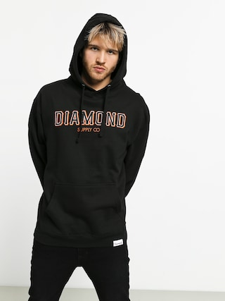 Mikina s kapucňou Diamond Supply Co. Sf Diamond HD (black)
