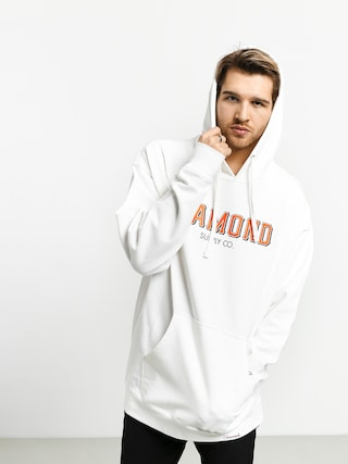 Mikina s kapucňou Diamond Supply Co. Sf Diamond HD (white)