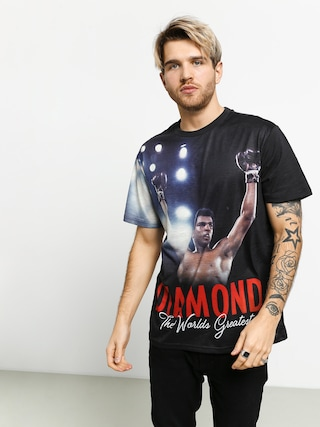Tričko Diamond Supply Co. Dmnd X Muhammad Ali The Champ (black)