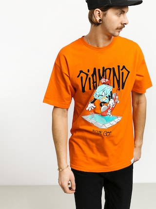 Tričko Diamond Supply Co. Sup Pool (orange)