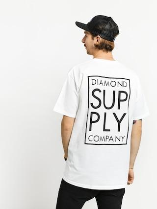 Triu010dko Diamond Supply Co. Stacked Type (white)