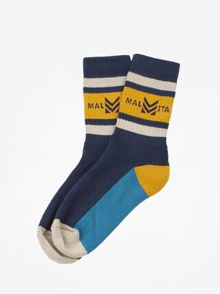Ponožky Malita Mlt Royal (navy)