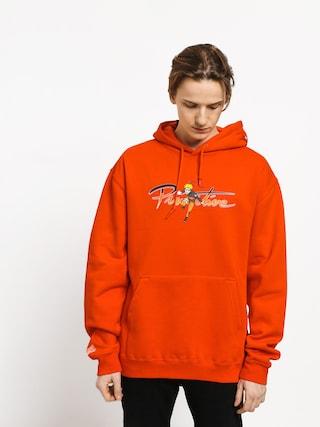Mikina s kapucňou Primitive Naruto Nuevo HD (orange)