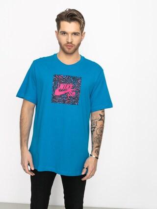 Tričko Nike SB Sb (laser blue/watermelon)