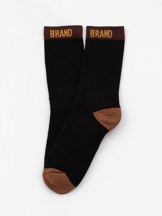 Ponožky Malita Simple B (black/brown)