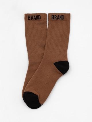 Ponožky Malita Simple O 1 (brown/black)