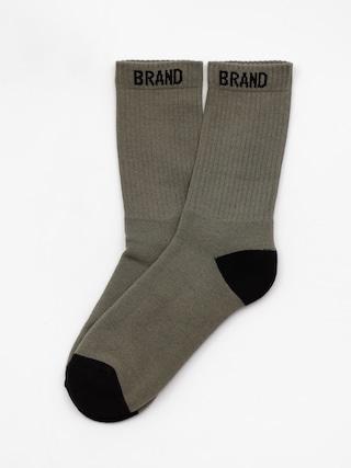 Ponožky Malita Simple K 1 (olive/black)