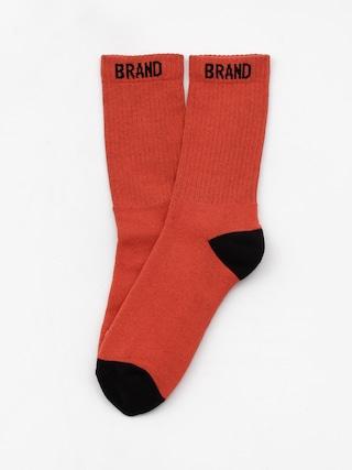 Ponožky Malita Simple R 1 (orange/black)