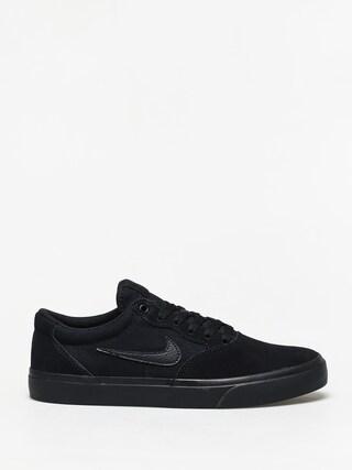Topu00e1nky Nike SB Chron Solarsoft (black/black black black)