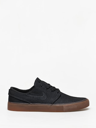 Topu00e1nky Nike SB Zoom Janoski Canvas Rm (black/black gum light brown black)